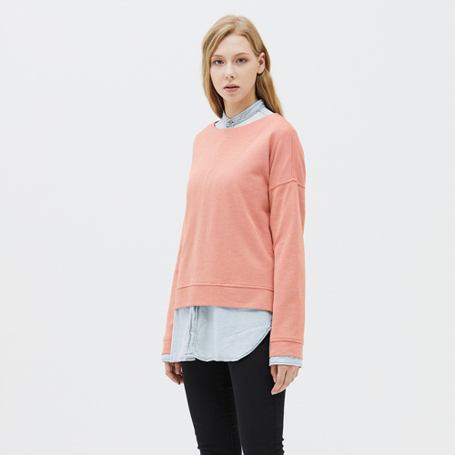 W's CRAVE WIDE-NECK TEE COR