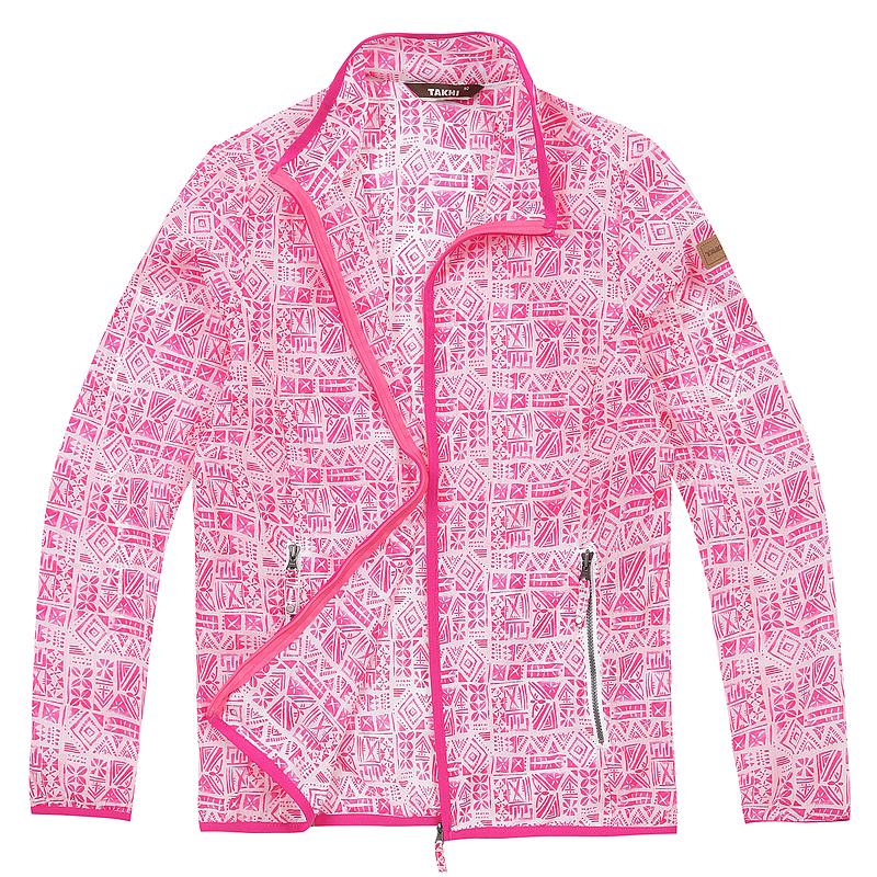 여성 플로라 자켓 핑크