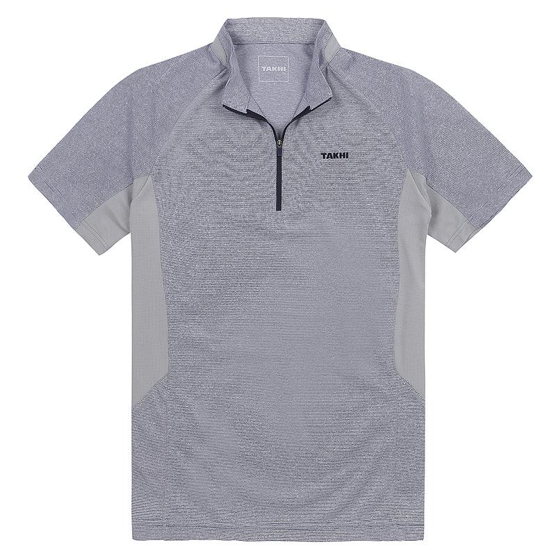 남성 포레스트 반팔 짚 티셔츠 네이비