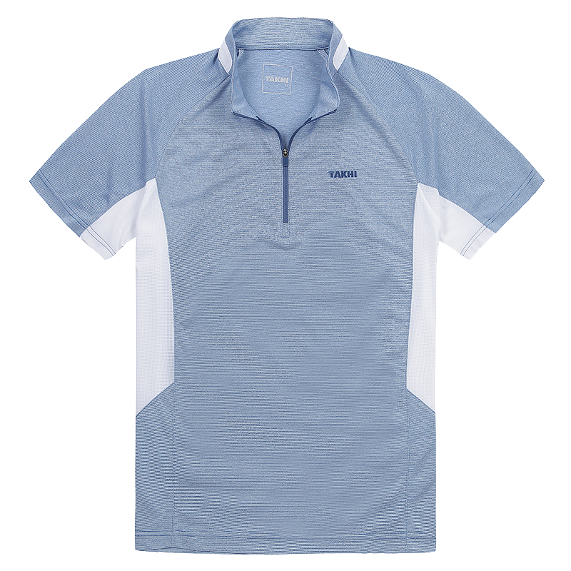 남성 포레스트 반팔 짚 티셔츠 청록