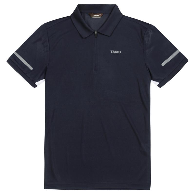 남성 브리즈 짚 폴로 티셔츠 네이비