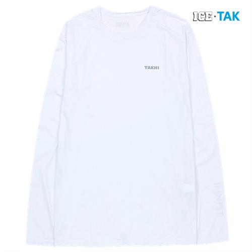 남성 콜드 스킨 UV 티셔츠 화이트