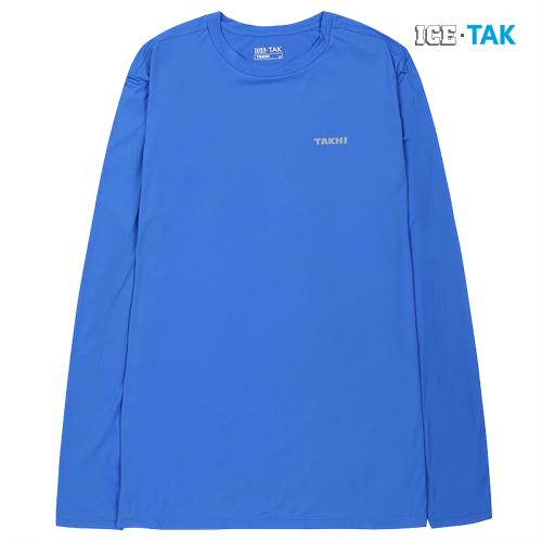 남성 콜드 스킨 UV 티셔츠 블루