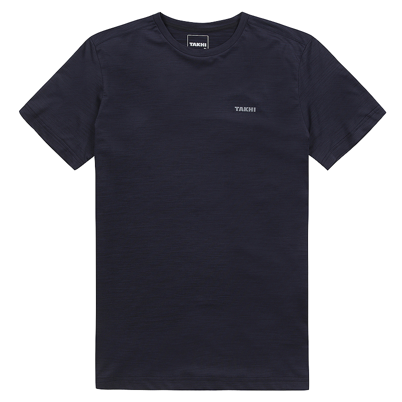 남성 베가본드 라운드 티셔츠 네이비