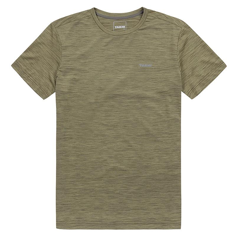 남성 베가본드 라운드 티셔츠 올리브
