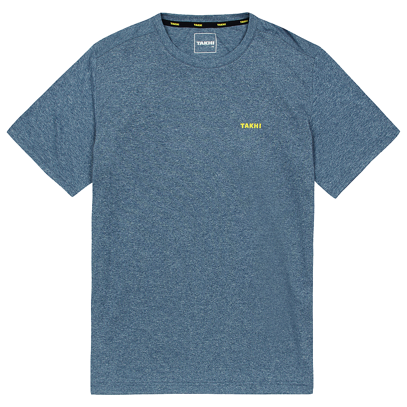 남성 컴패스 라운드 티셔츠 다크블루