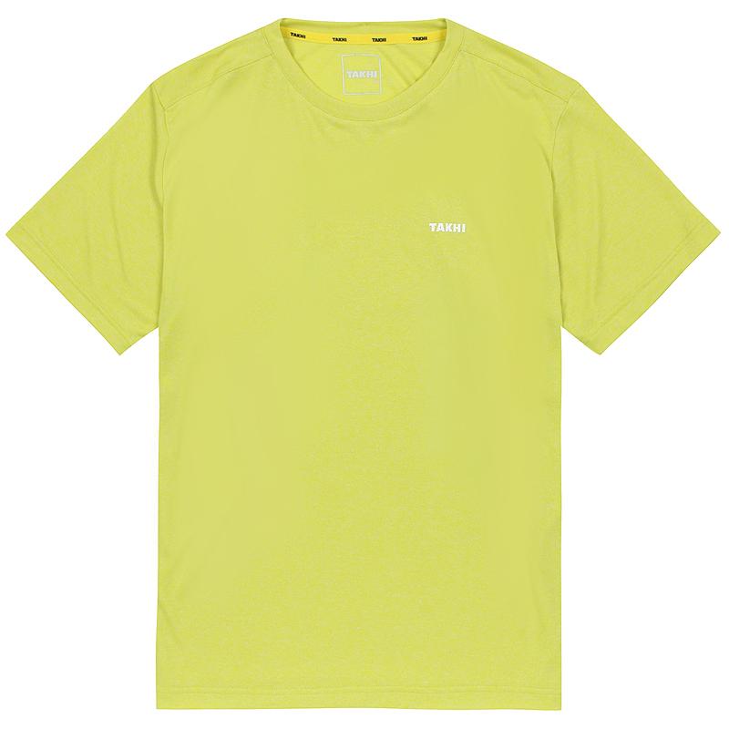 남성 컴패스 라운드 티셔츠 라임