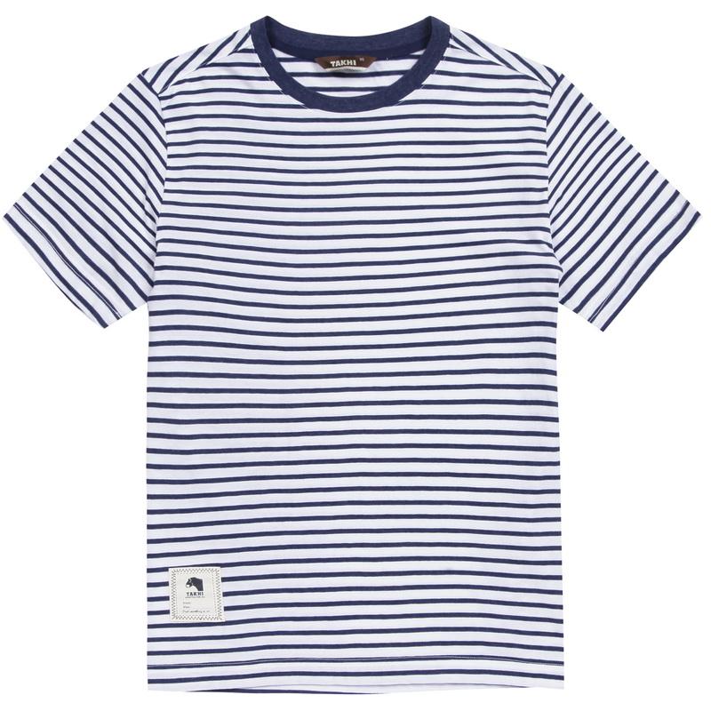 남성 마린 포인트 티셔츠 네이비