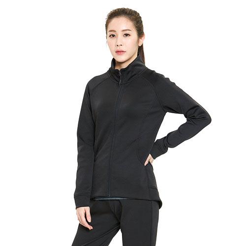 여성 바이퍼 자켓 블랙