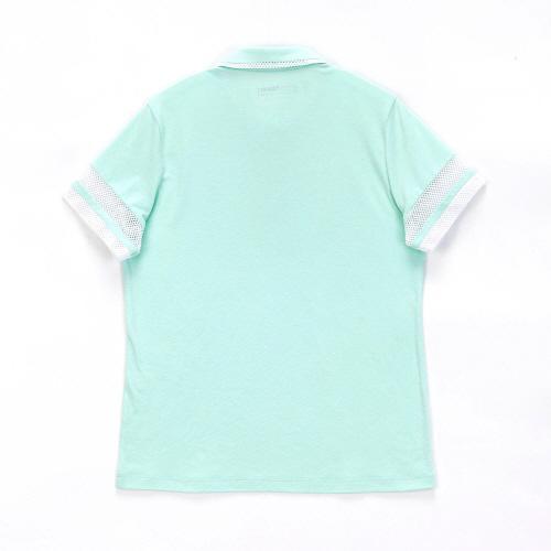 여성 센트로 폴로 반팔 티셔츠 민트