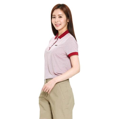 여성 컨버트 티셔츠 레드