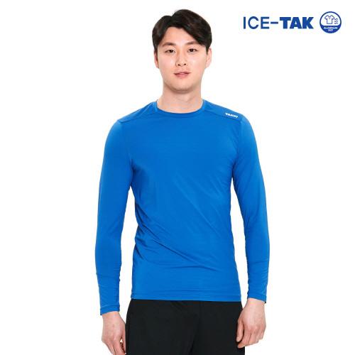 남성 유브이 클린 티셔츠 블루