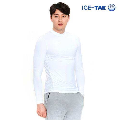 남성 유브이 어센트 티셔츠 화이트