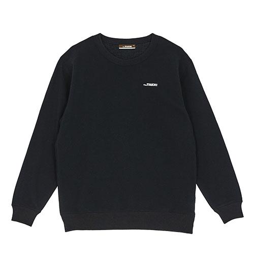 남성 더 타키 맨투맨 티셔츠 블랙
