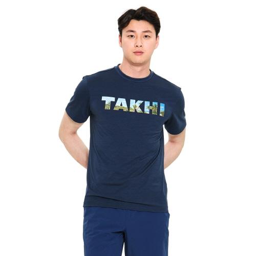 유니 리커버 티셔츠 다크 네이비