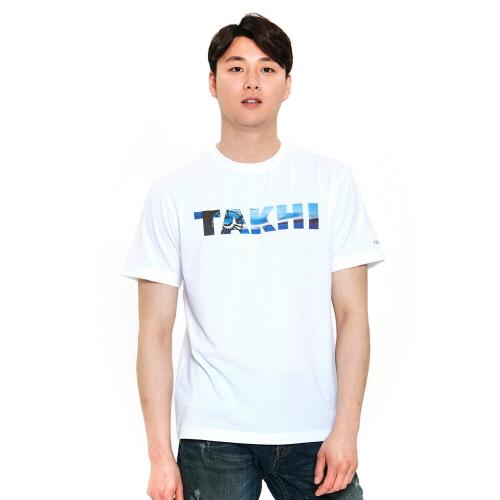 유니 리커버 티셔츠 화이트