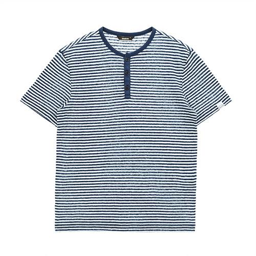 남성 세일러 티셔츠 네이비