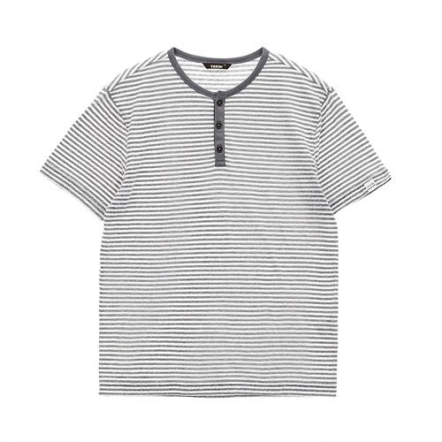 남성 세일러 티셔츠 라이트그레이