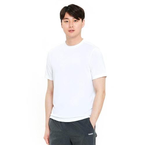 남성 리커버 그래픽 티셔츠 화이트