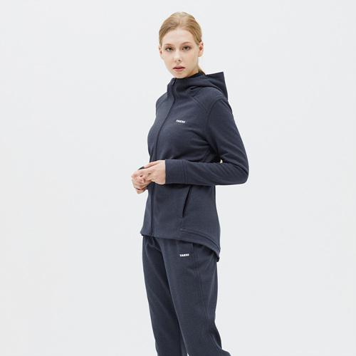 여성 볼트 스웨트 자켓 네이비