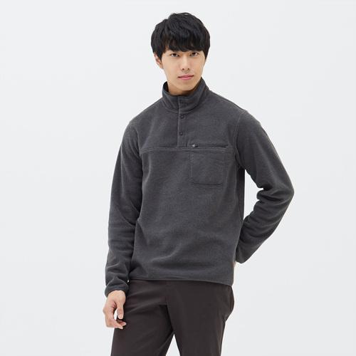 남성 스너그 스냅 티셔츠