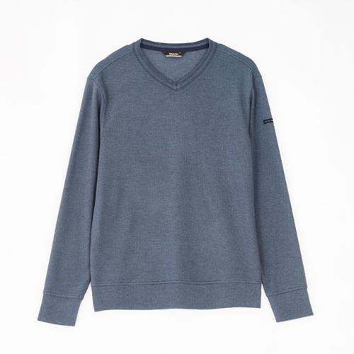 남성 크레이브 브이넥 티셔츠 네이비