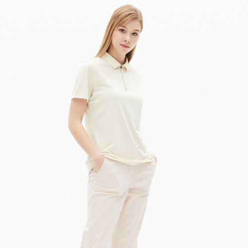 여성 타운 폴로 숏 티셔츠