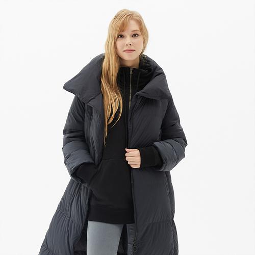 여성 주노 롱다운 코트