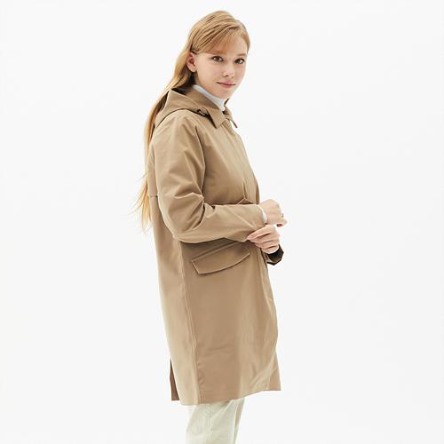 여성 웨더프루프 스트레치 코트