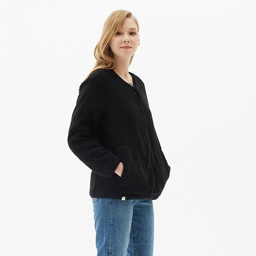여성 리버시블 플리스 자켓